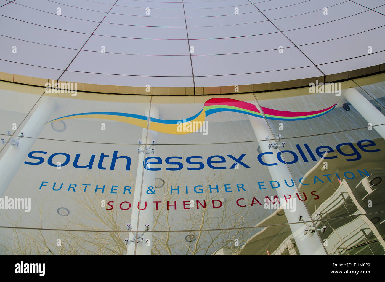 South Essex College of Further and Higher Education is a further education college located in Southend on Sea, Essex. - Stock Image