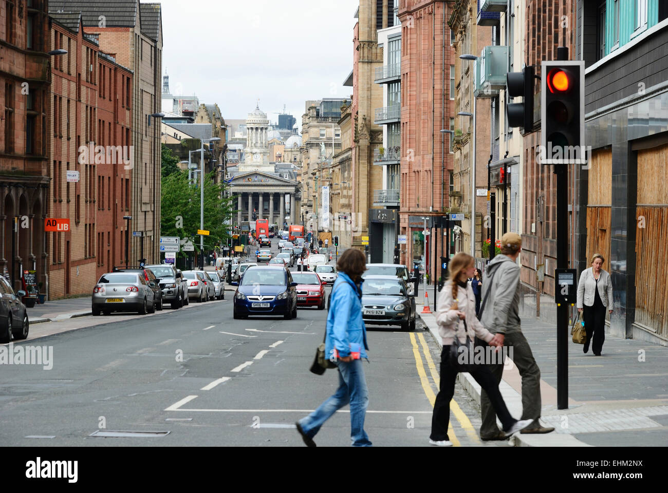 Glasgow. Merchant City - Stock Image