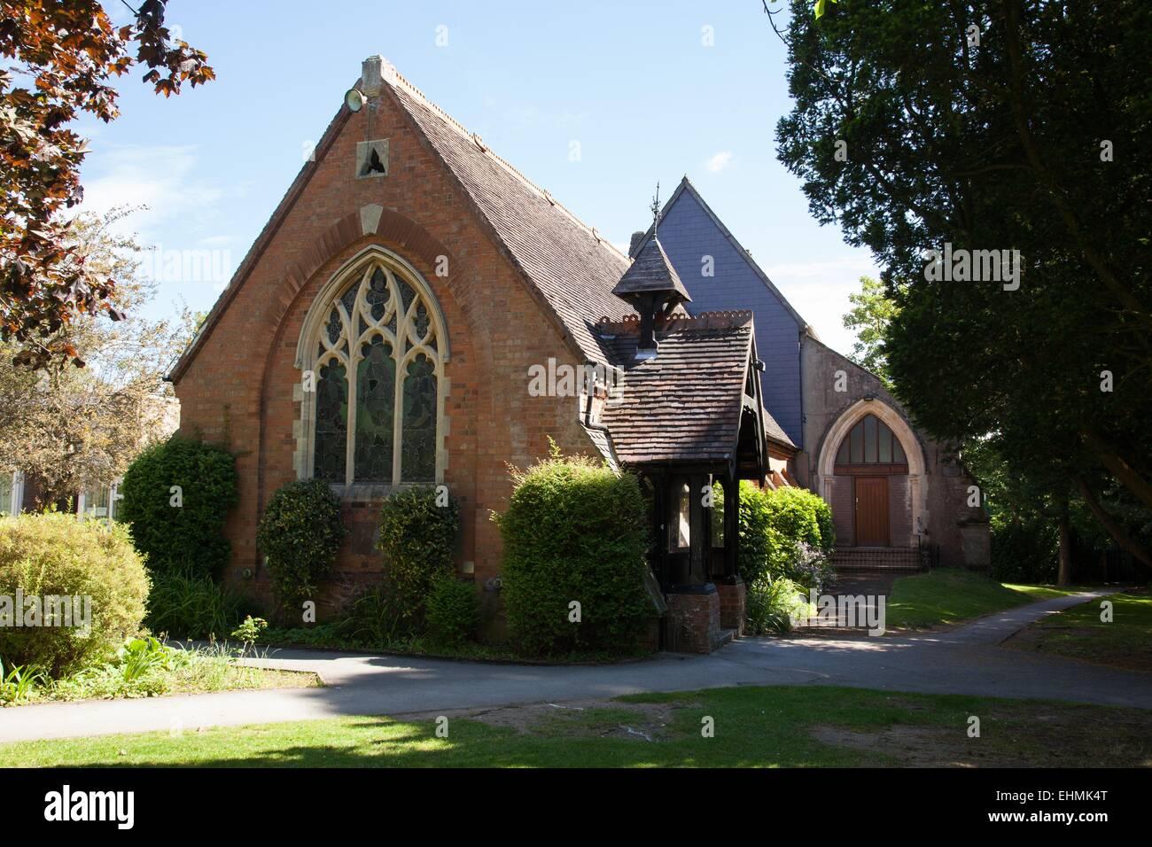 St Philips Church, Dorridge, nr Solihull, West Midlands - Stock Image