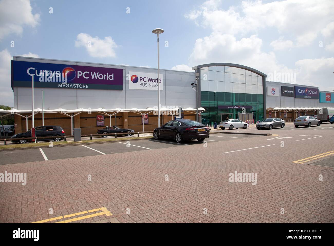 The Fosse shopping park, Leicester - Stock Image