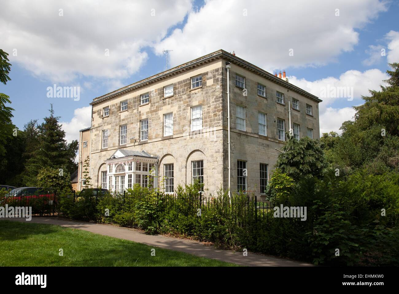 Kingsthorpe Hall, now a community centre in Kingsthorpe, Northampton - Stock Image