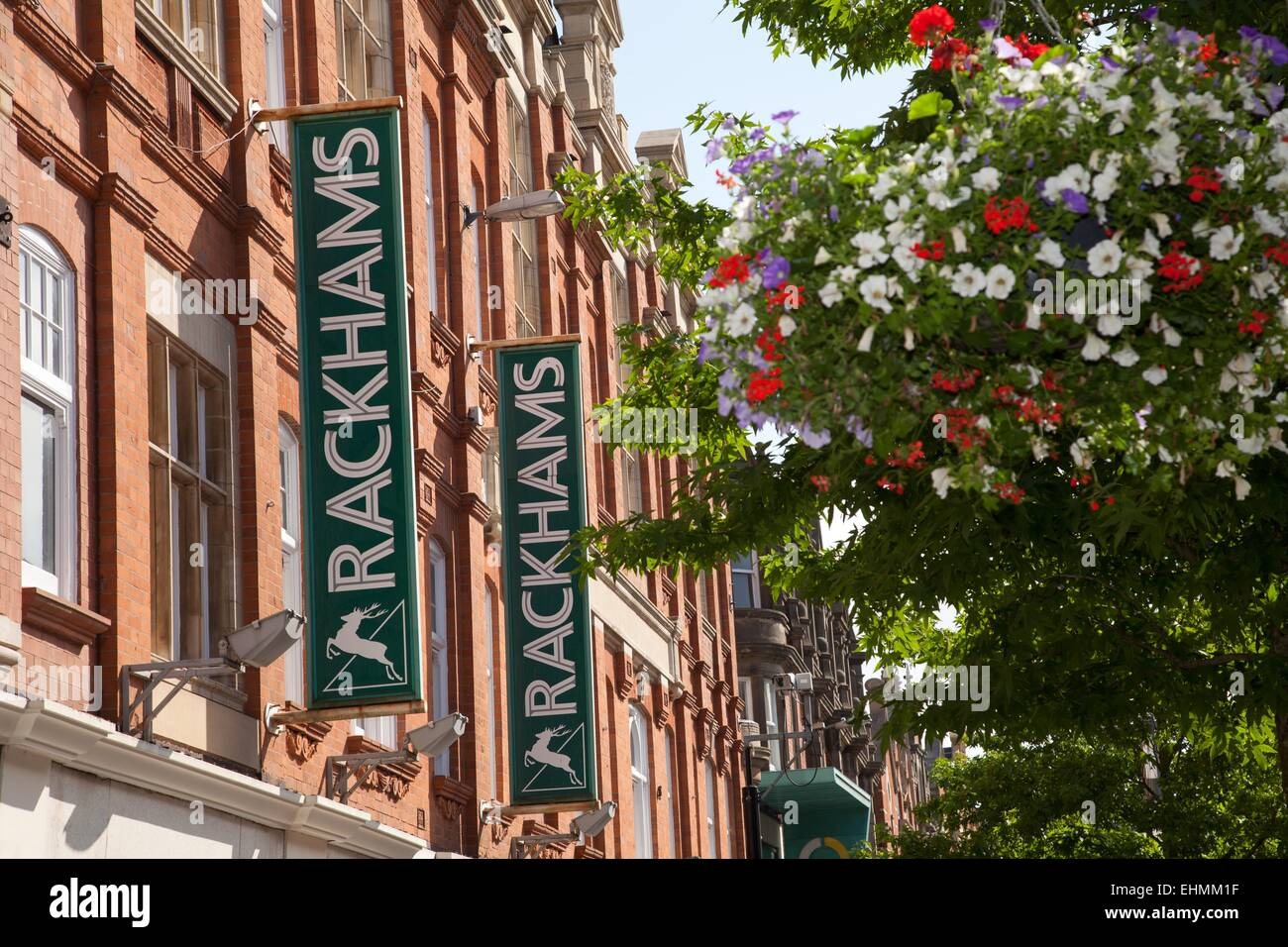 Rackhams Department Store  in Leicester city centre -= House of Fraser group - Stock Image
