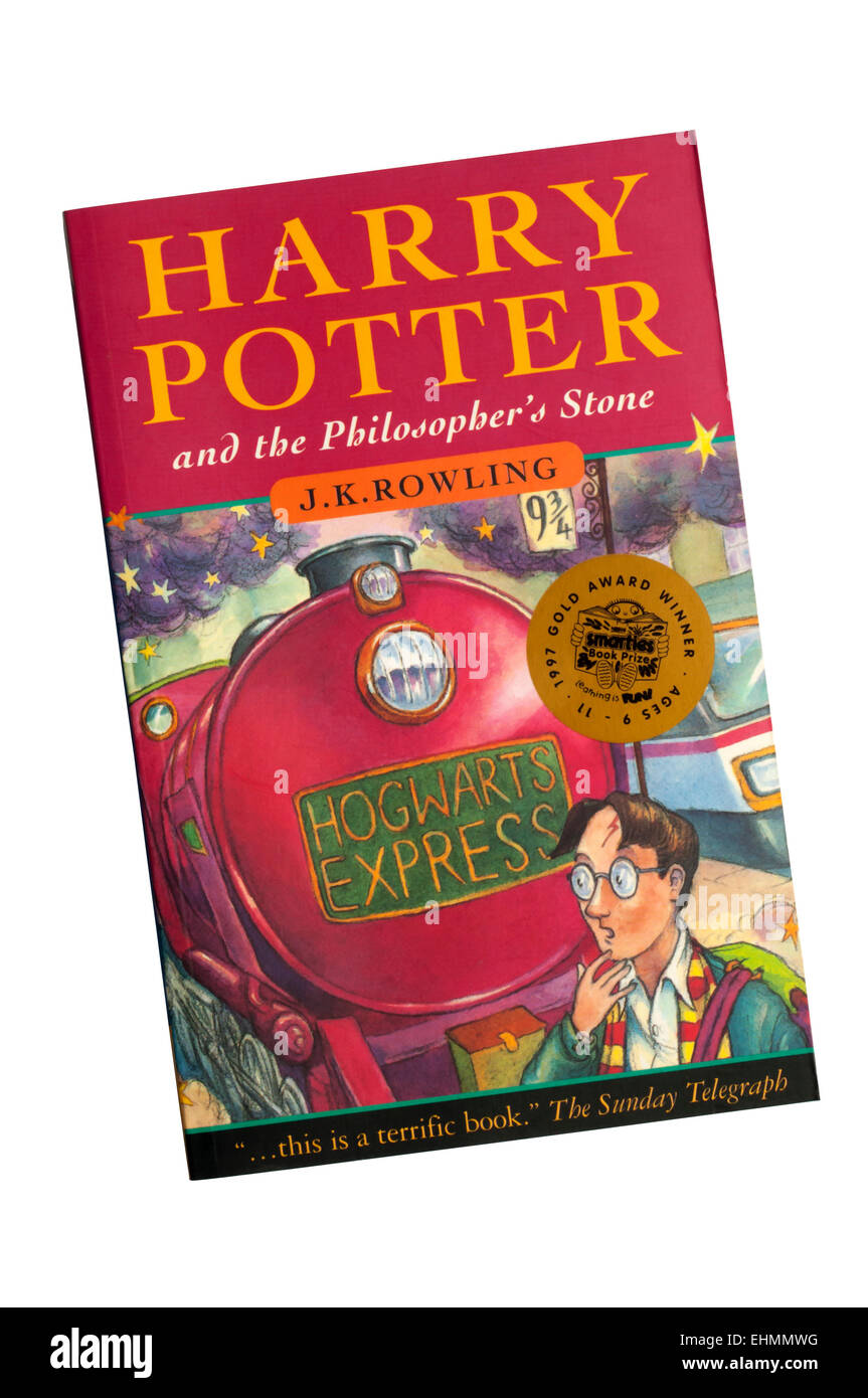 A Paperback Copy Of Harry Potter And The Philosopher S Stone