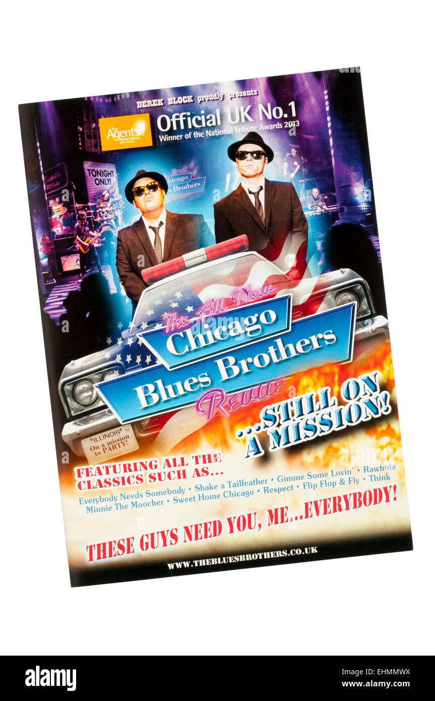 Chicago Blues Brothers Stock Photos & Chicago Blues Brothers