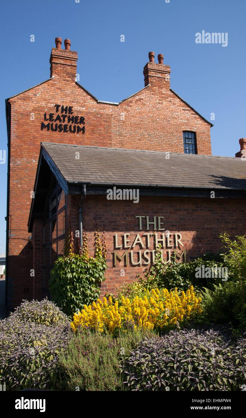Walsall Leather Museum, West Midlands - Stock Image