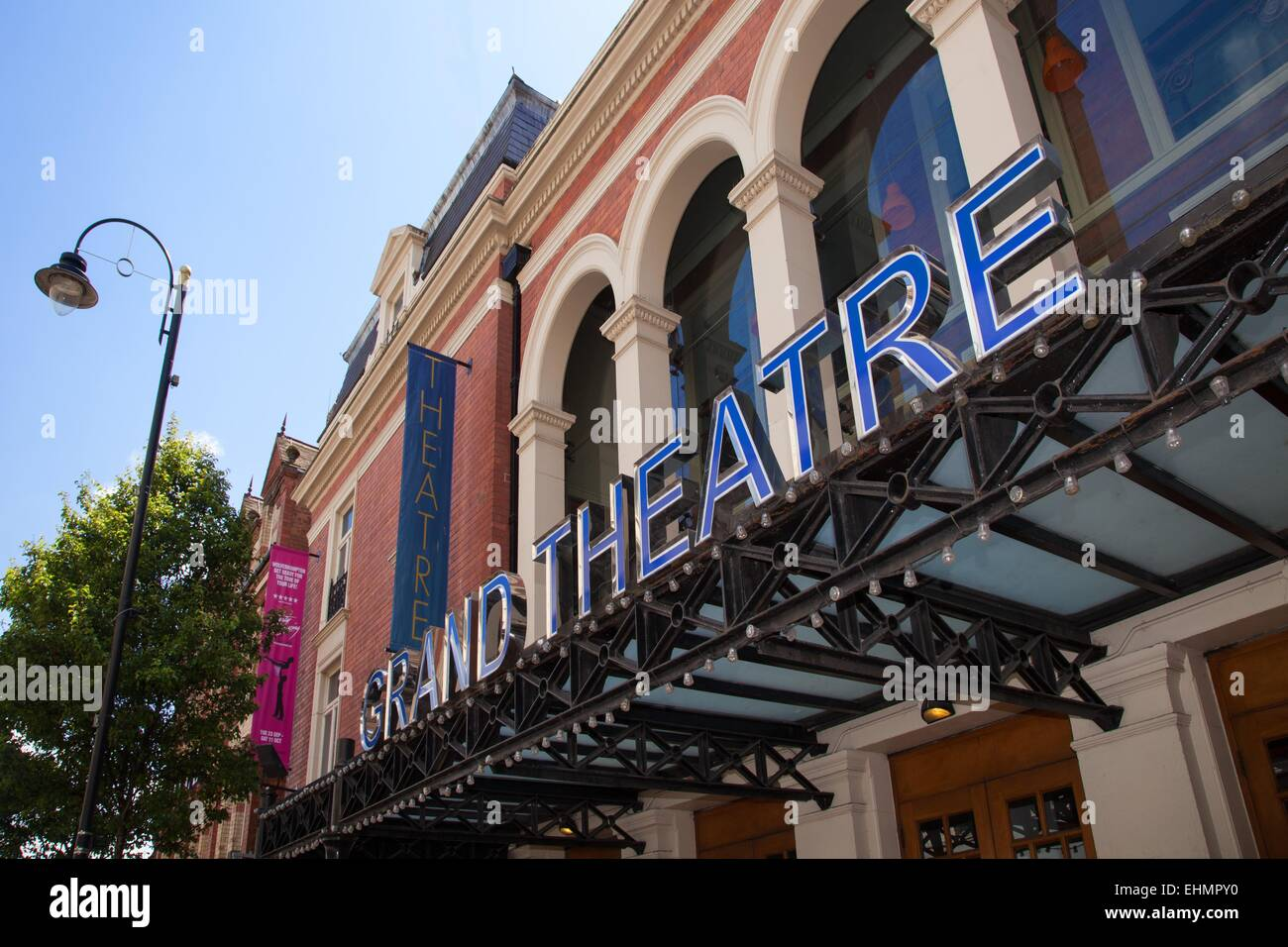 The Grand Theatre Wolverhampton - Stock Image