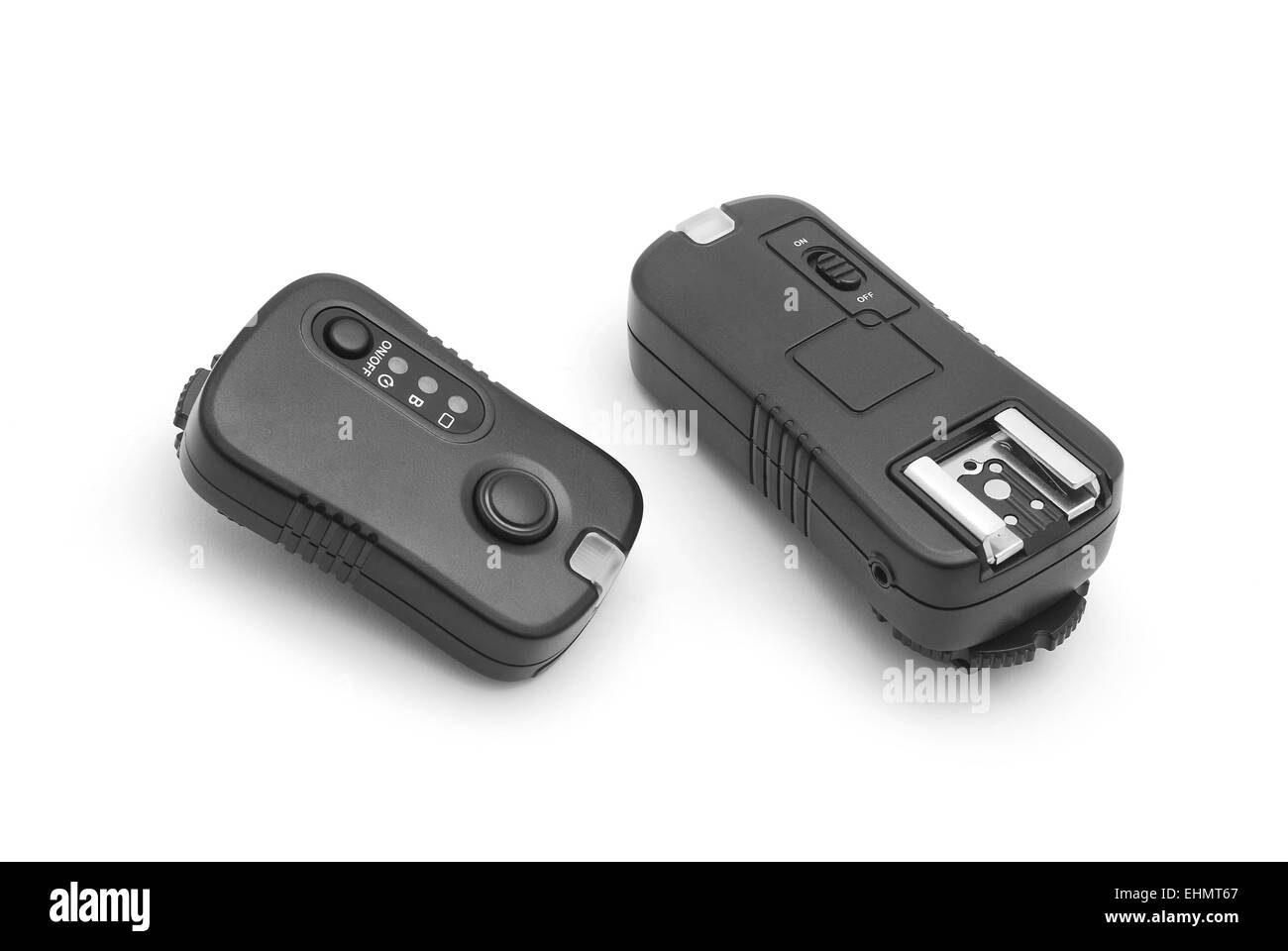wireless flash trigger and transmitter - Stock Image