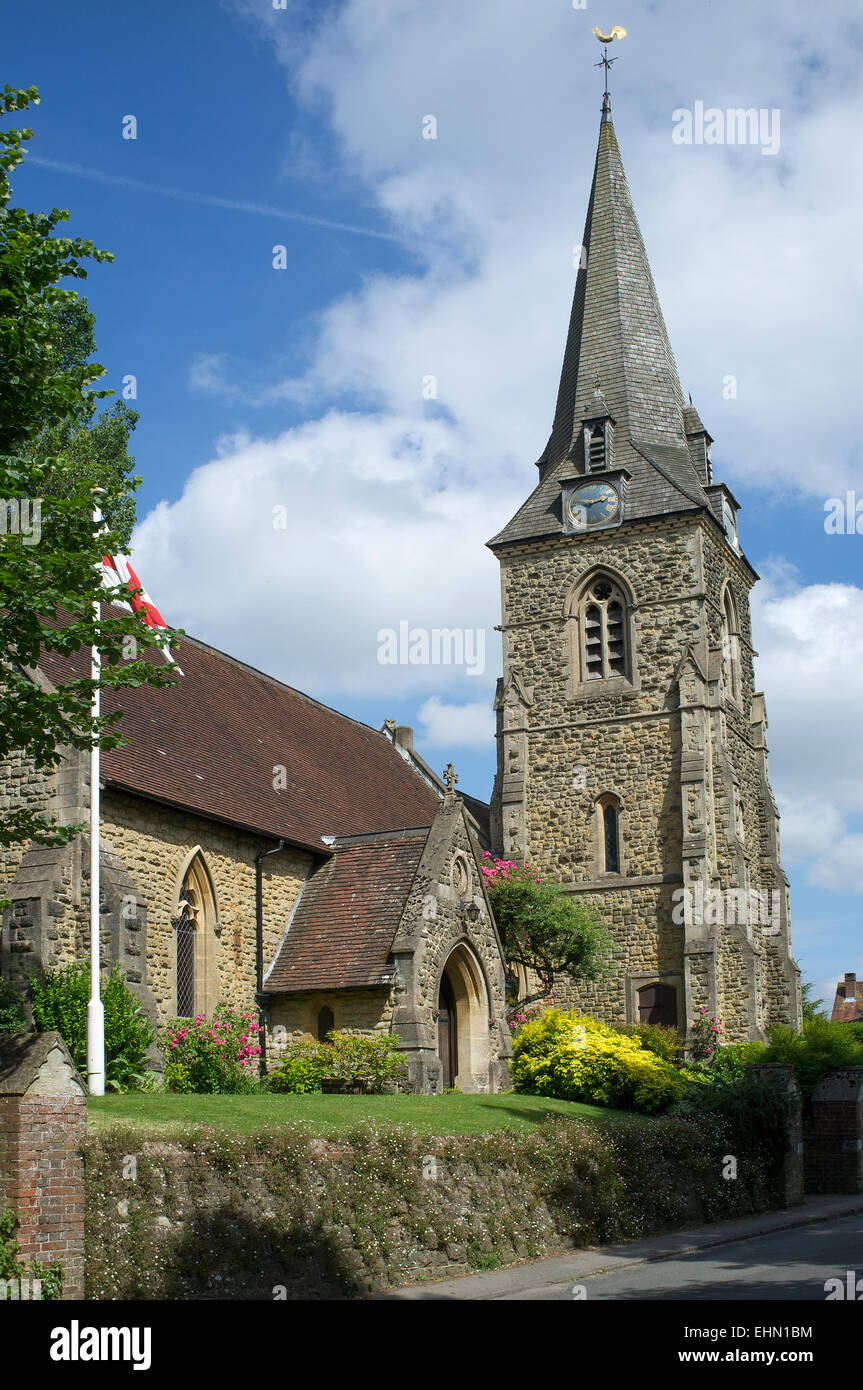 St Mary Magdalen church, Sheet, Petersfield, Hampshire - Stock Image