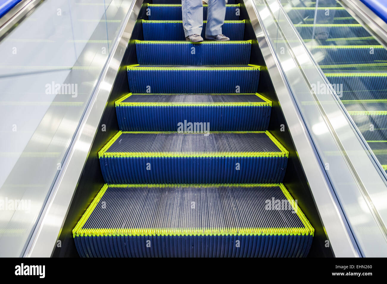 Escalator. - Stock Image