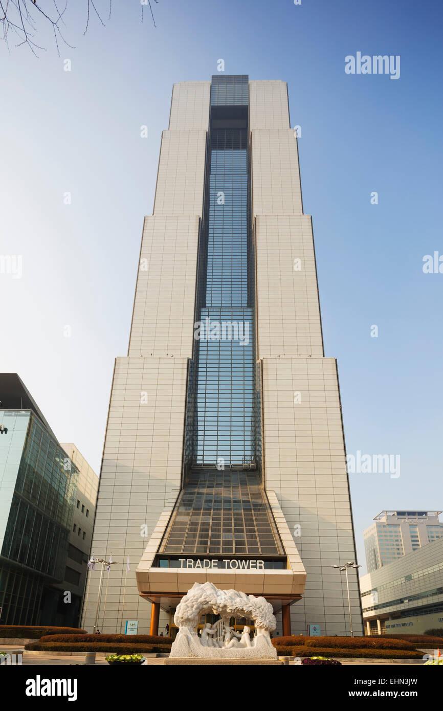 Asia, Republic of Korea, South Korea, Seoul,  Coex World Trade tower - Stock Image