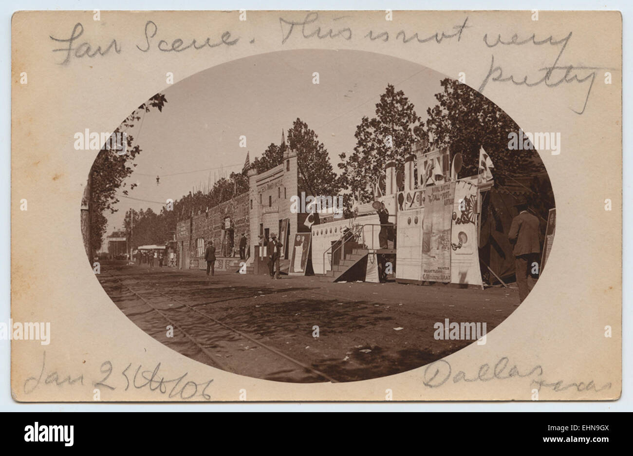 Fair Scene - Stock Image