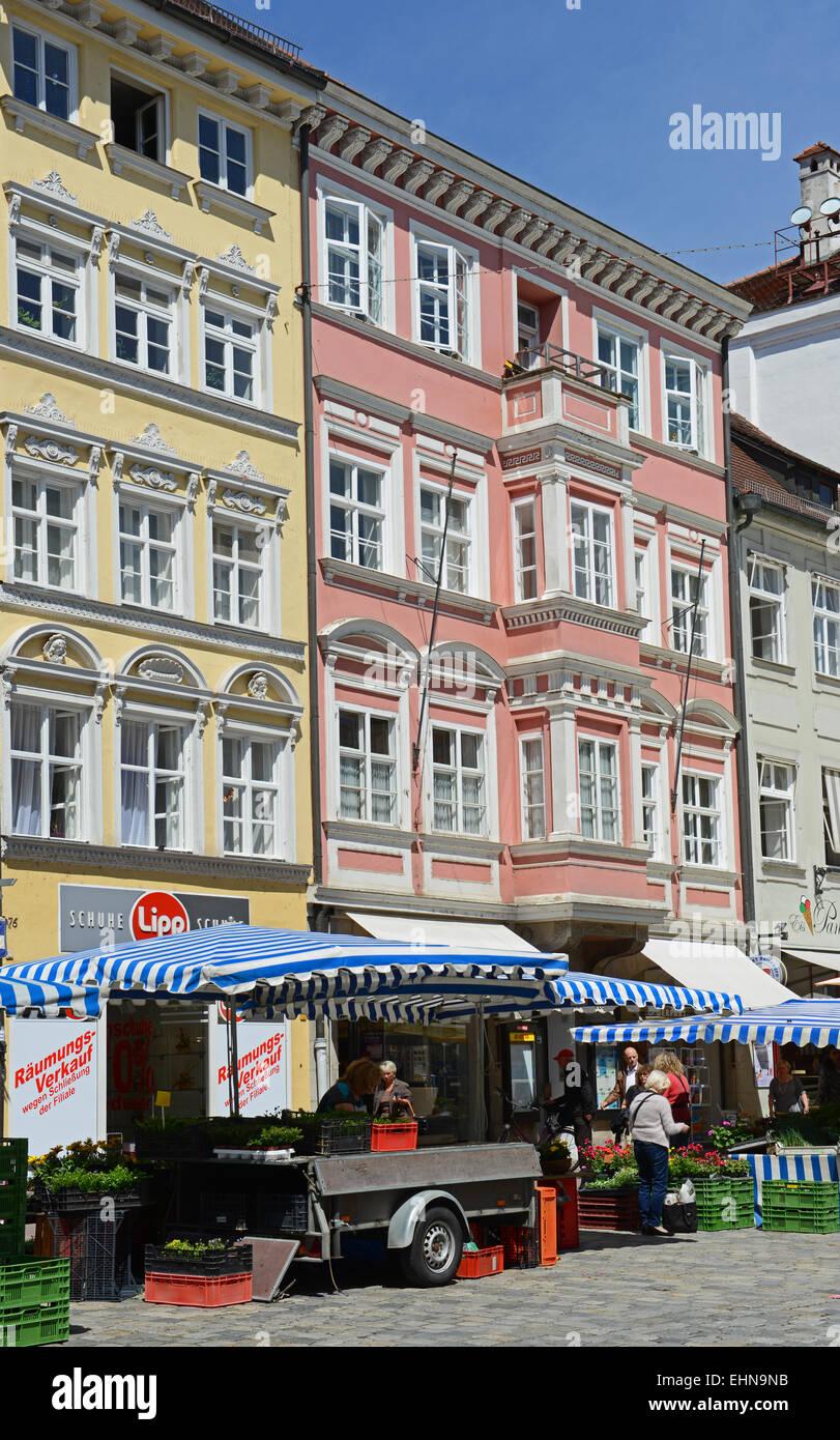 Landshut Stock Photo