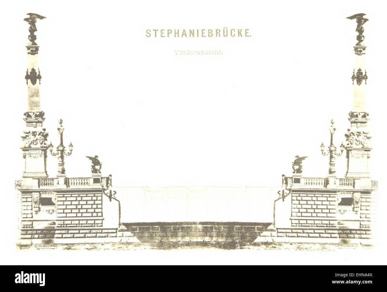 Berichte der Wiener Stadtverwaltung, 1873ff, div. Pläne und Ansichten 02 Stock Photo