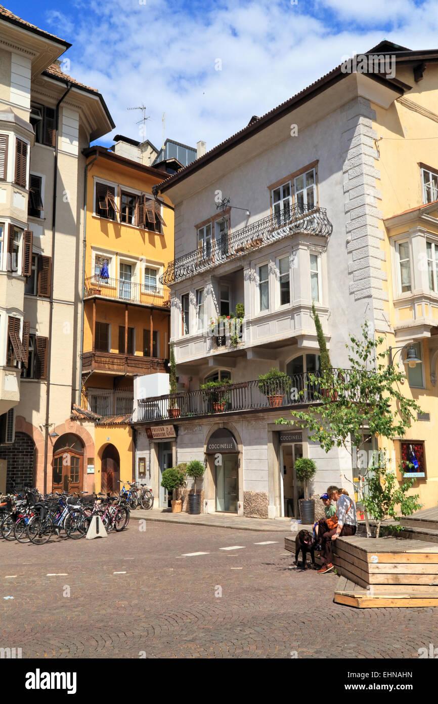 Bozen / Bolzano, Italy - Stock Image