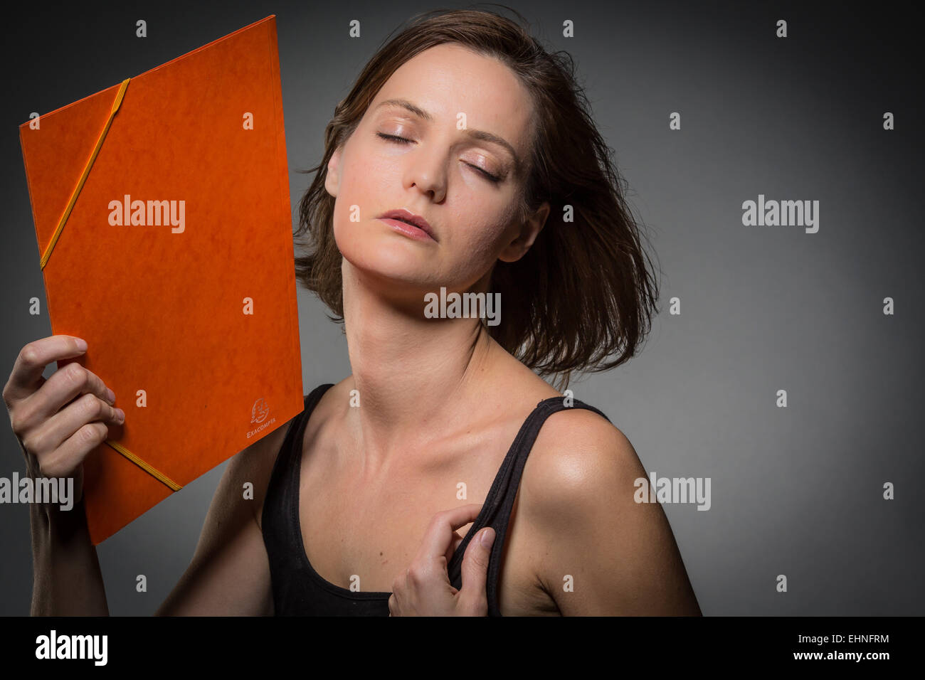 Hot flash. - Stock Image