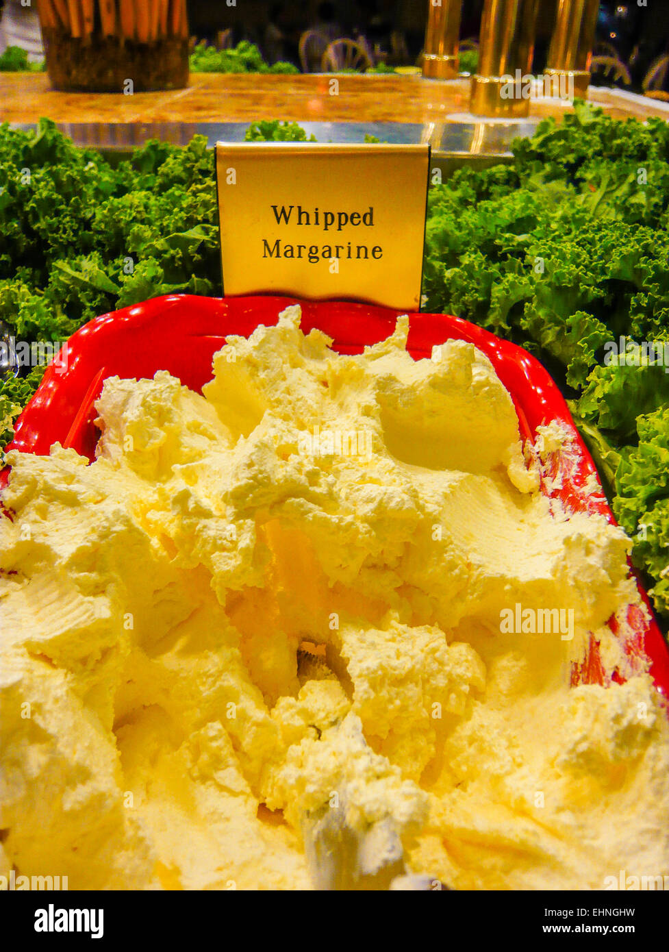Fine Tub Of Whipped Margarine In An American All You Can Eat Home Remodeling Inspirations Gresiscottssportslandcom