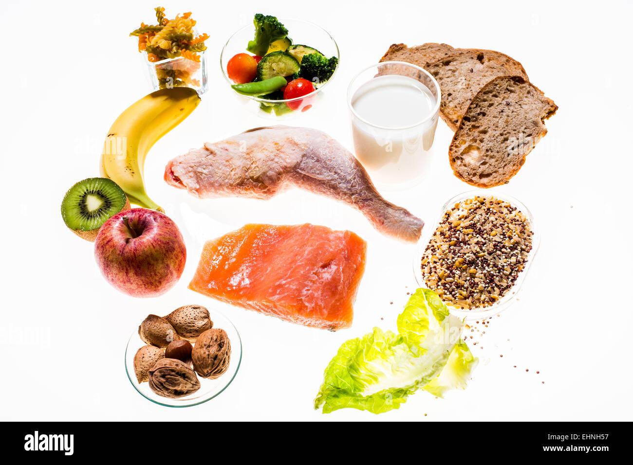 Dash diet. - Stock Image