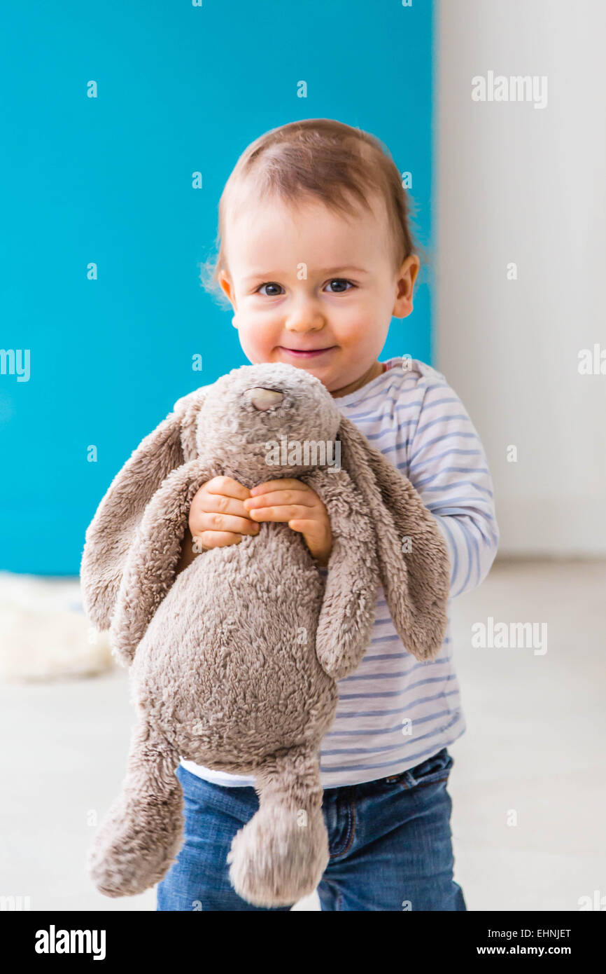3789def32fe 18 month-old baby boy Stock Photo  79766144 - Alamy
