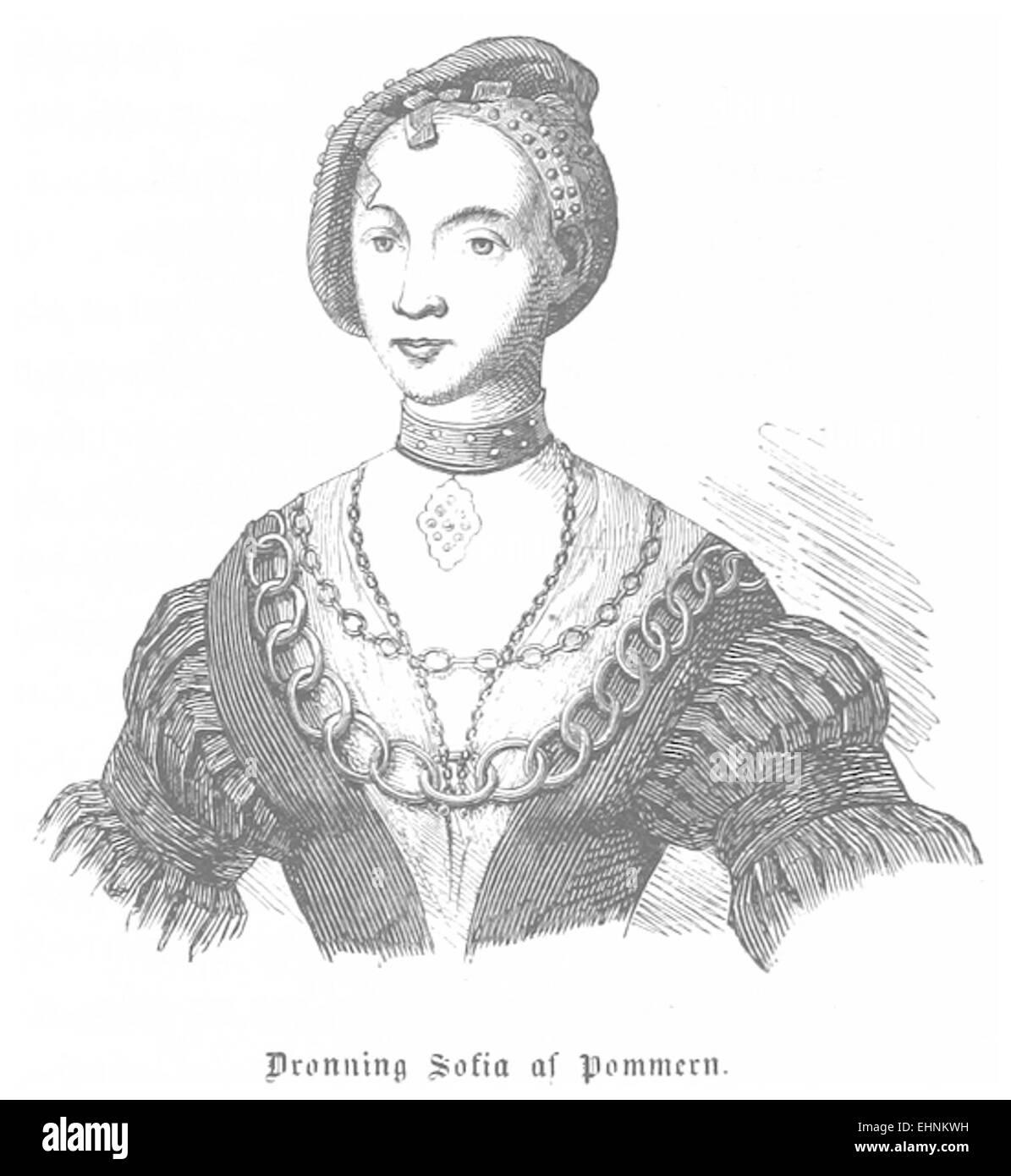 J.H.(1856) Denmark, p028 Sofia Stock Photo