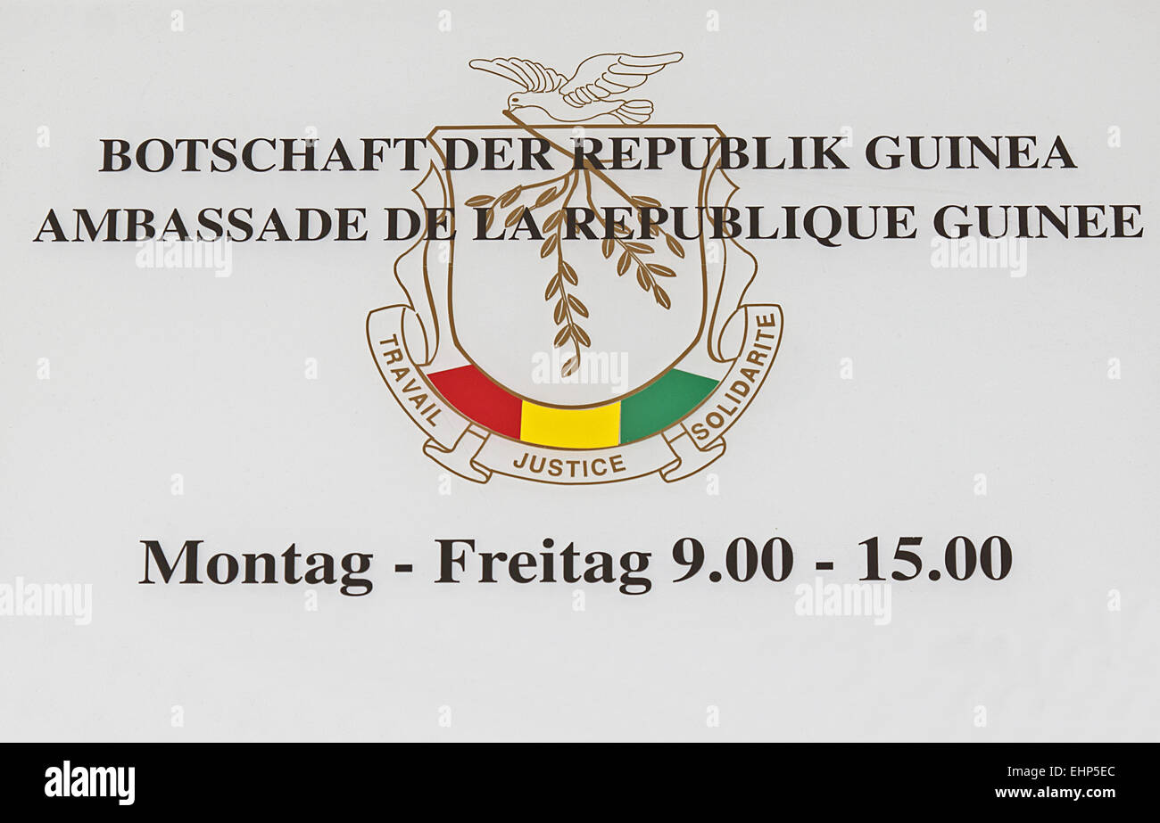 Guinea - Stock Image