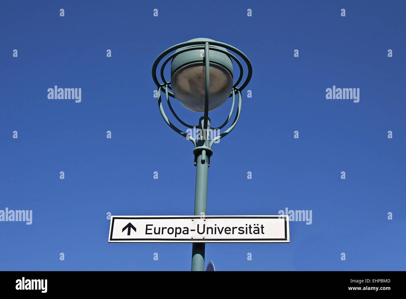 Europe University - Stock Image