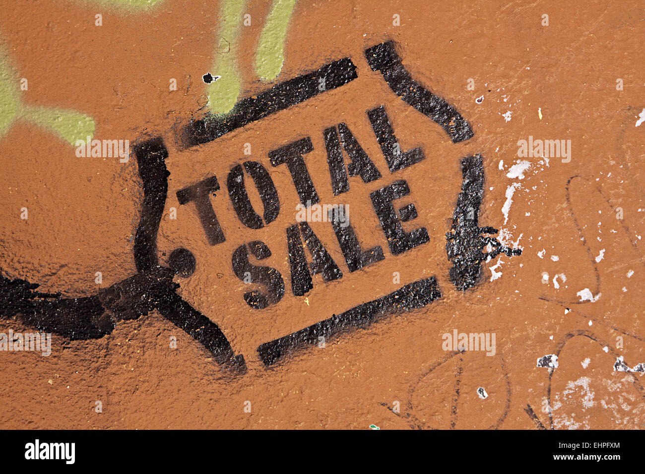 Total Sale Stock Photo