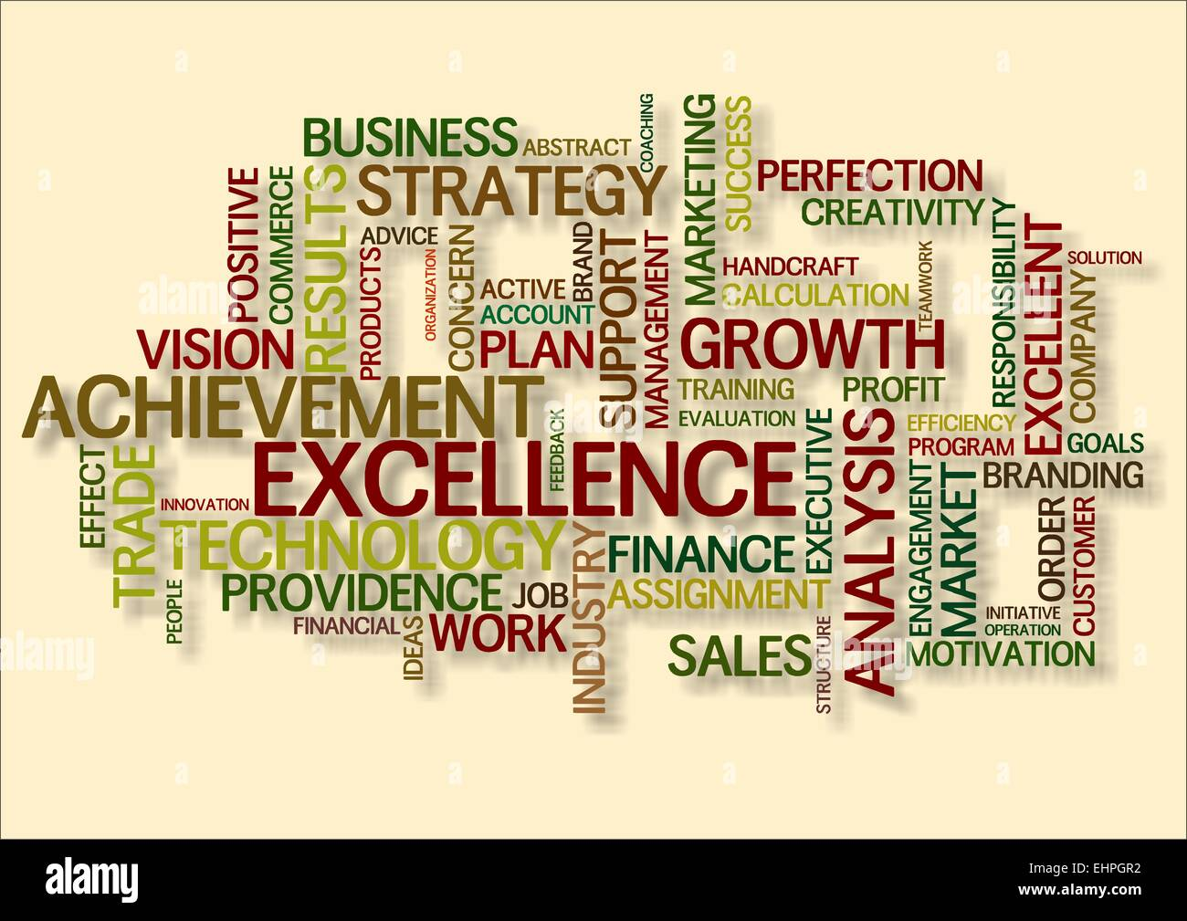 Word Cloud For Excellence Stock Photo: 79786758