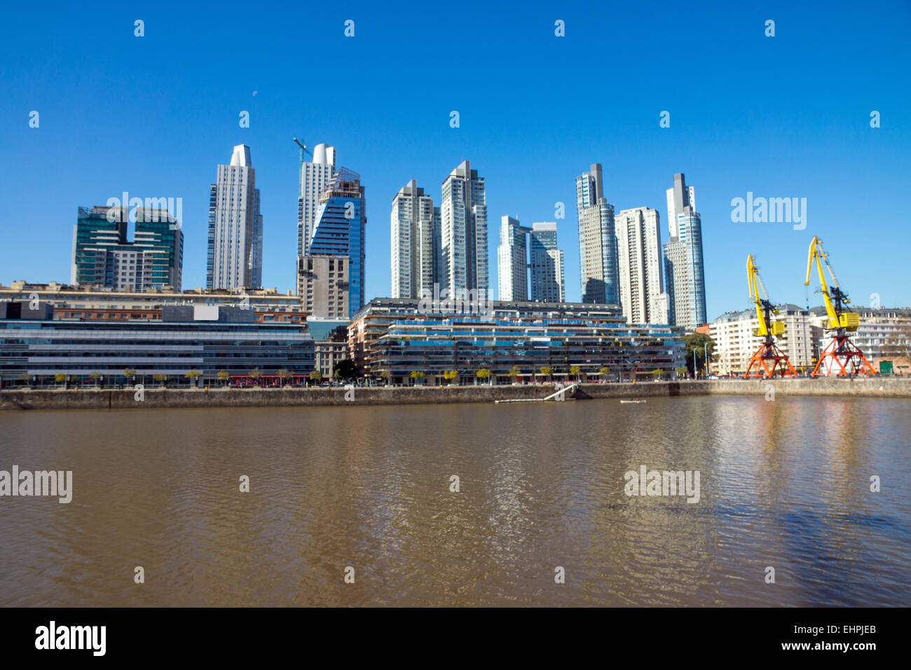 Buildings in Puerto Madero, Buenos Aires - Stock Image