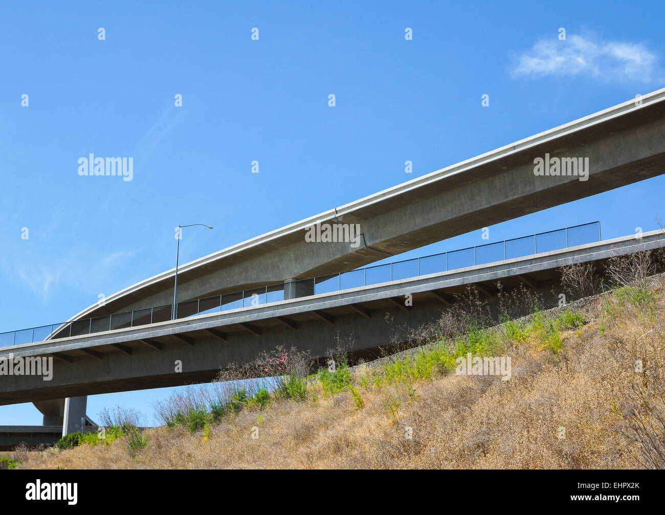 Under the Bridge - Stock Image