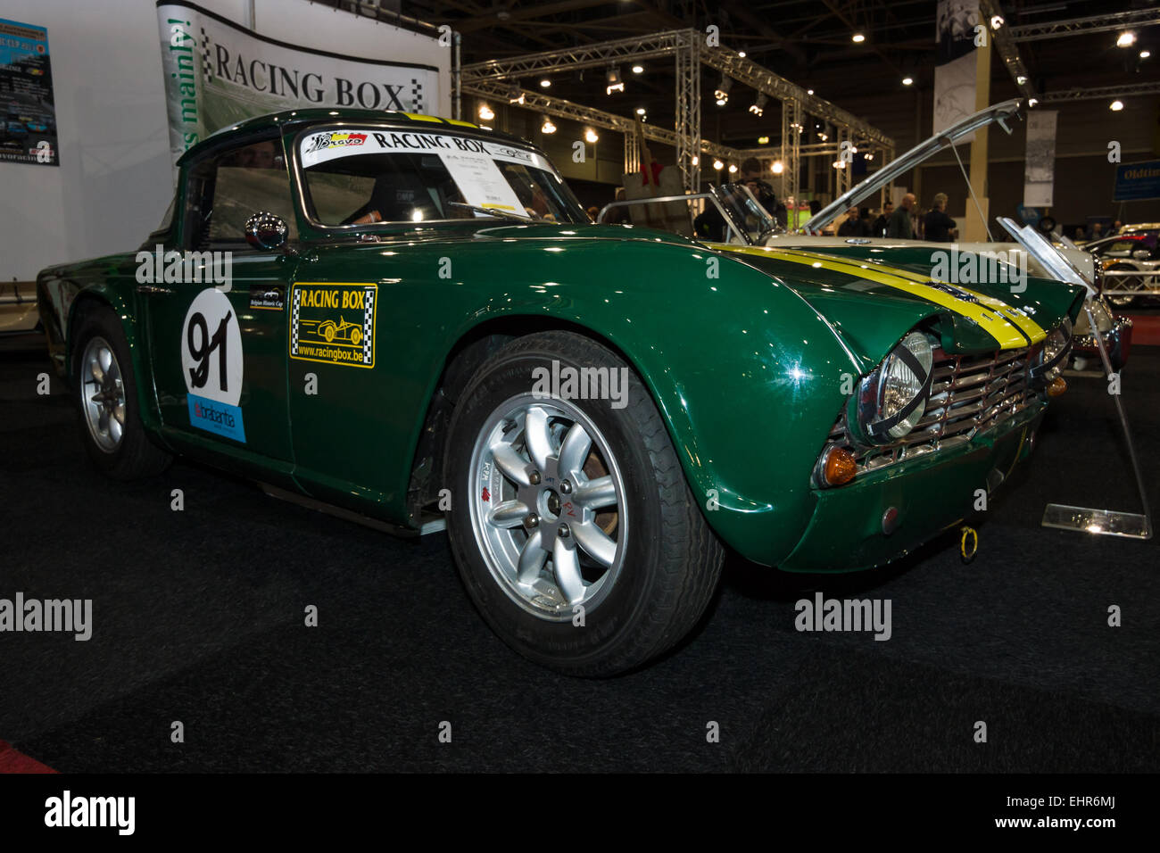 Racing Car Triumph Tr4 1963 Stock Photo 79800802 Alamy