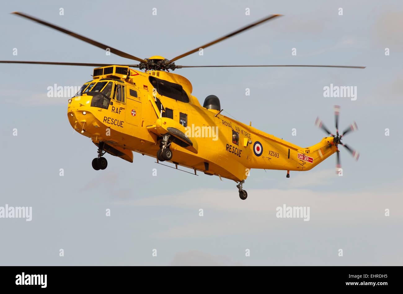 Westland Seaking Helicopter, Rhyl Air Display - Stock Image