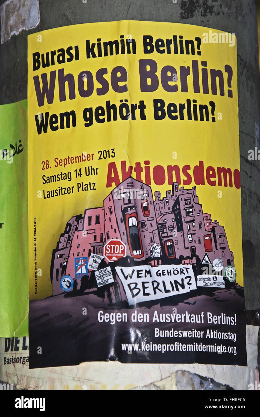 Sale Berlin Stock Photo