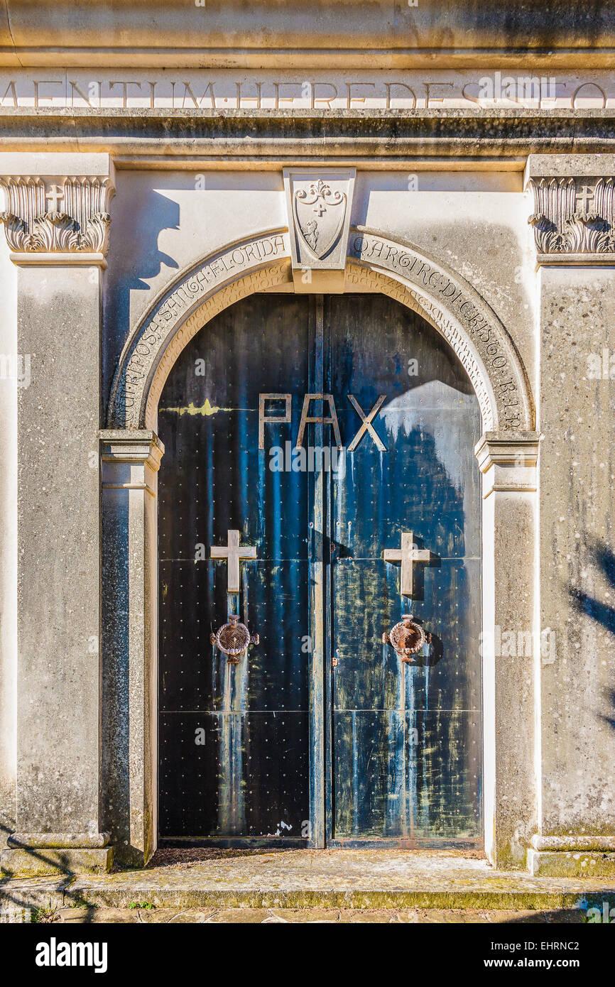 Sanctuary of  Beata Vergine Maria Addolorata ( Our Lady of Sorrows) / Collagù / Farra di Soligo Stock Photo