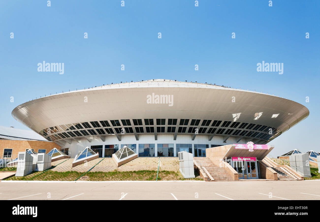 Circus building in Astana - Stock Image