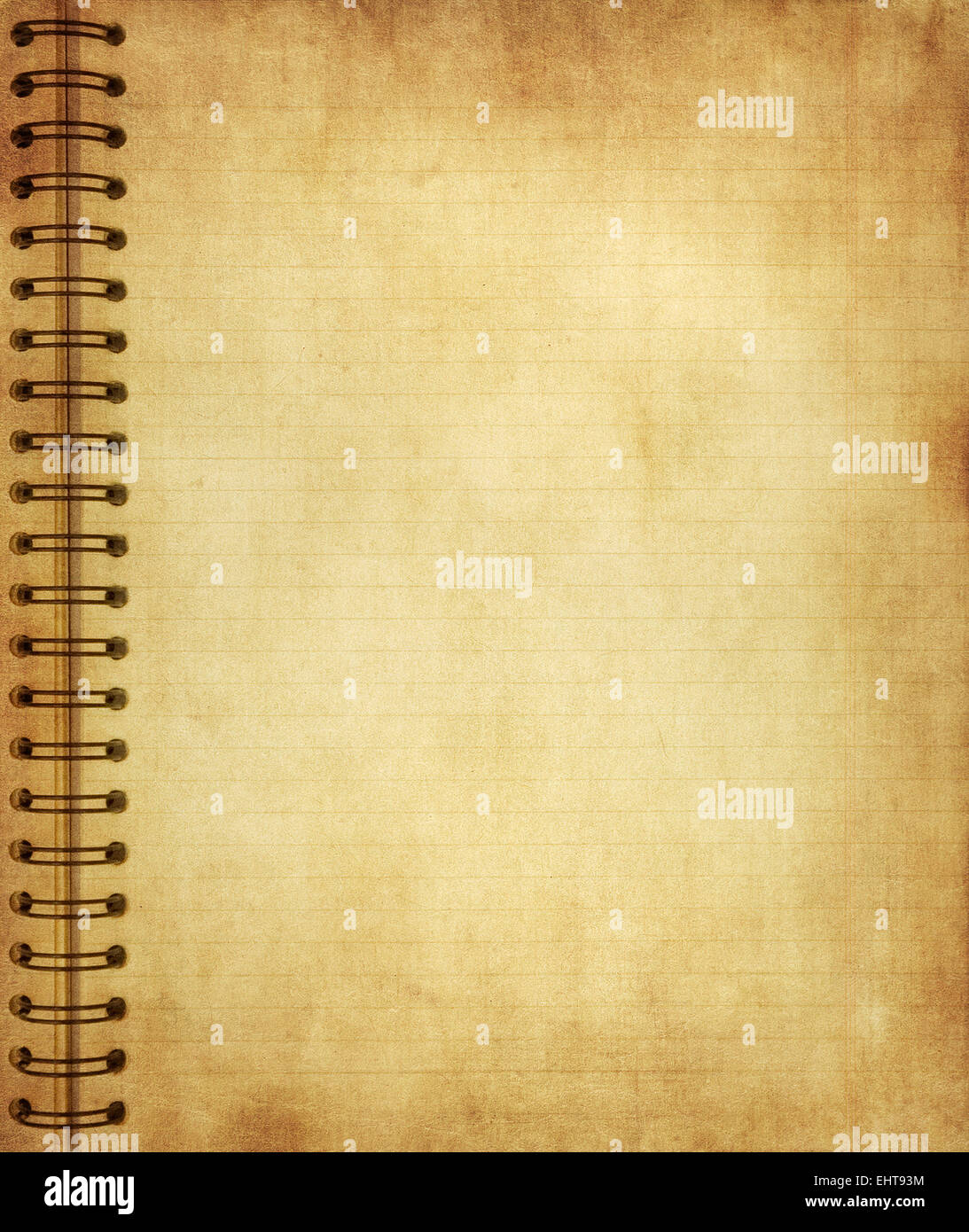 page from old grunge notebook stock photo 79824632 alamy