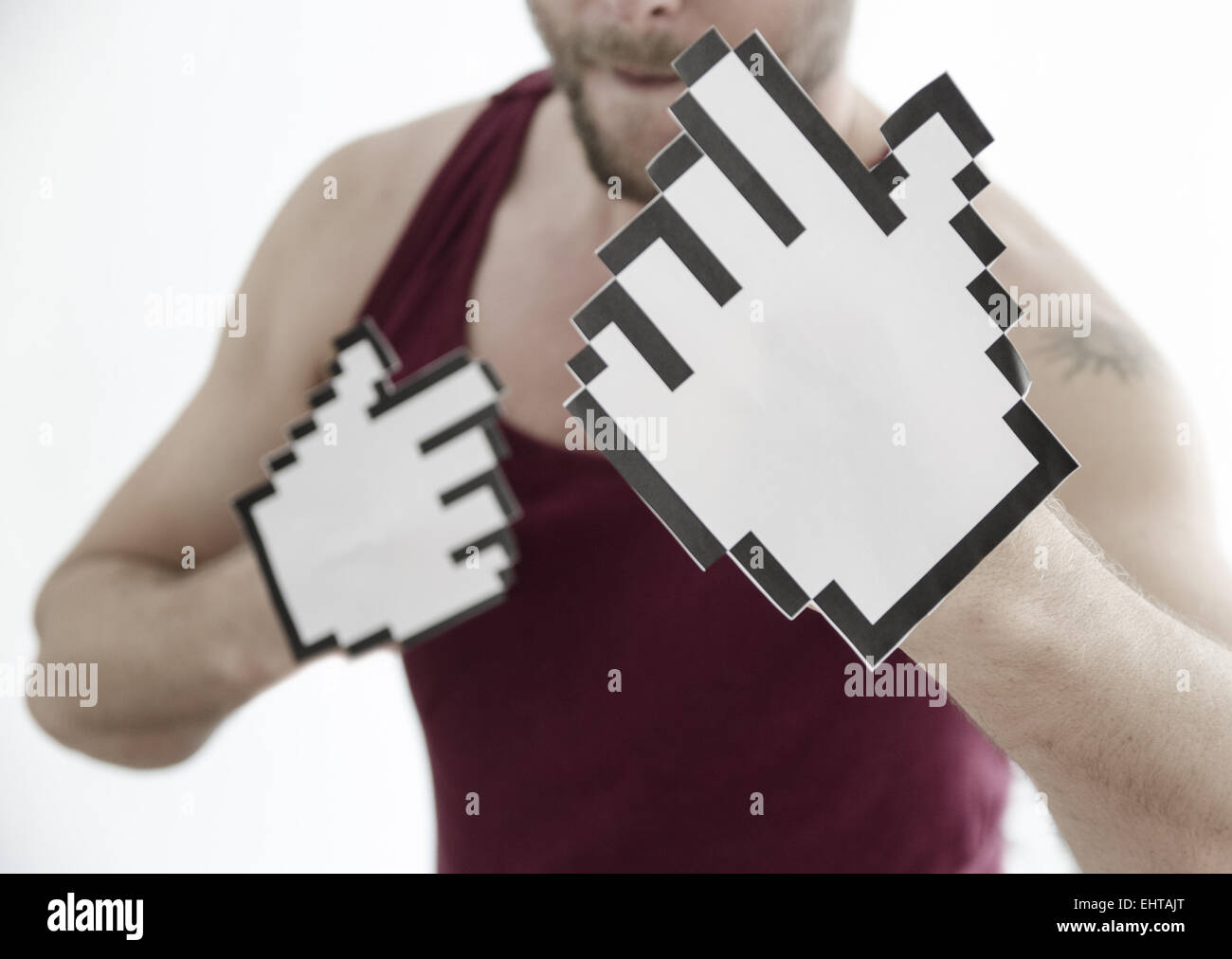 Boxing 2.0 - Stock Image