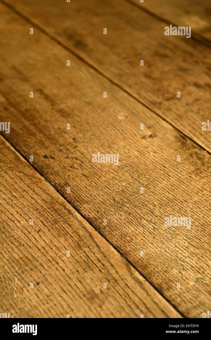 A Background Texture Of Old Wooden Floorboards Stock Photo