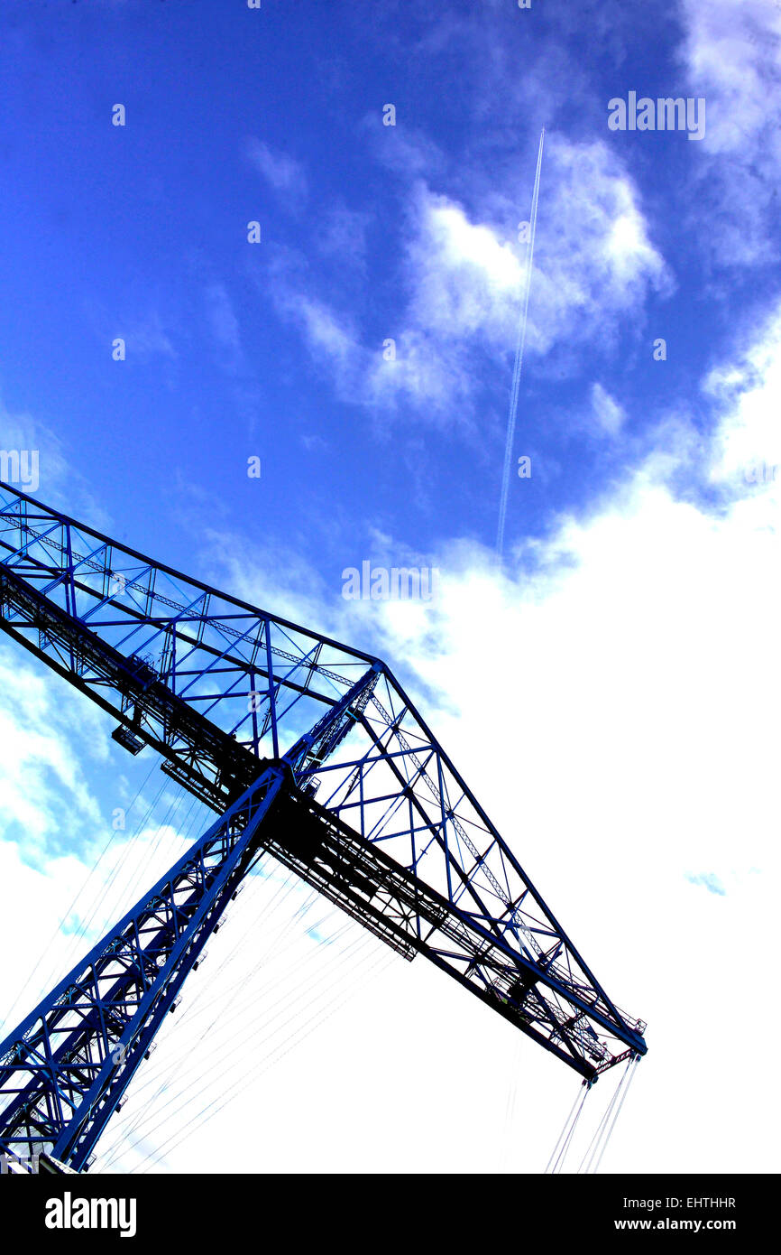 The Transporter Bridge, Middlesbrough Stock Photo