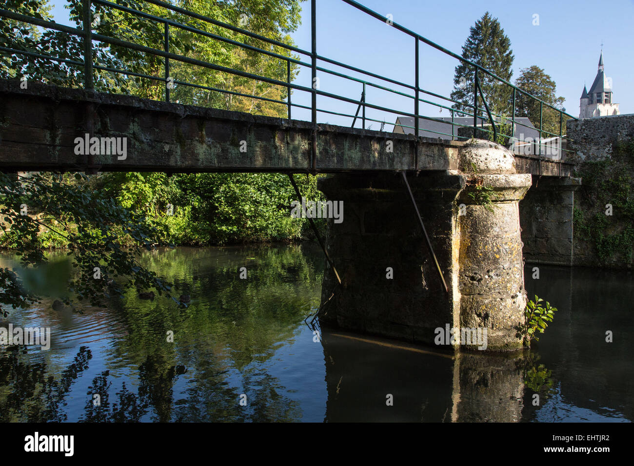 ILLIERS-COMBRAY, IN THE FOOTSTEPS OF MARCEL PROUST, EURE-ET-LOIR (28), FRANCE - Stock Image