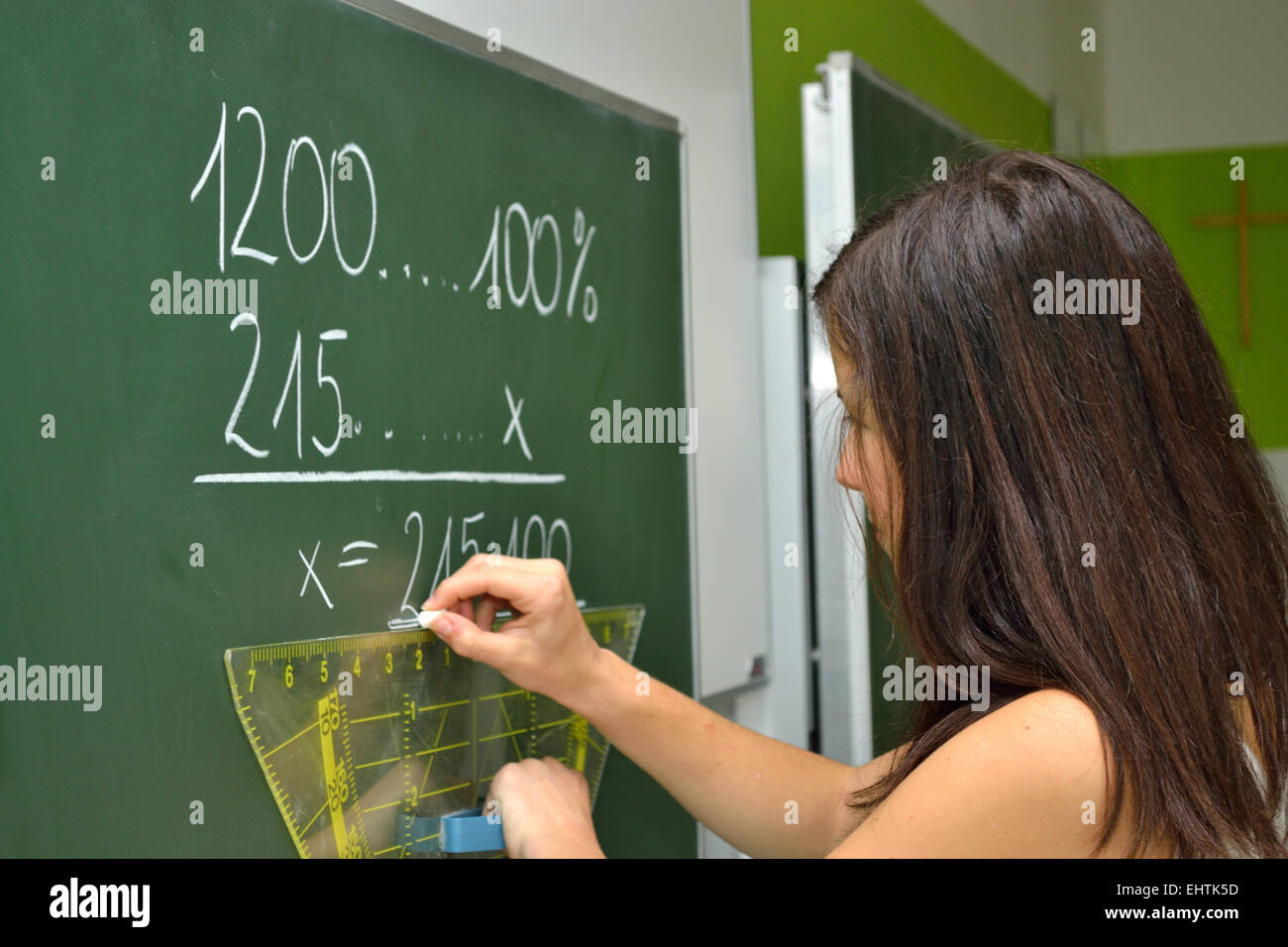 student expects Stock Photo
