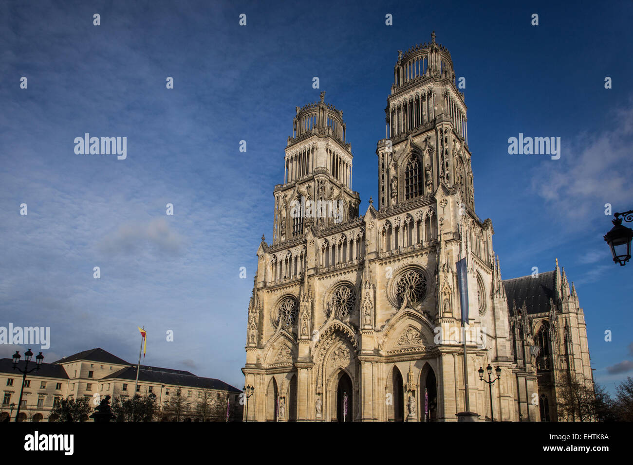 ILLUSTRATION OF THE CITY OF ORLEANS, (45) LOIRET, CENTRE, FRANCE - Stock Image
