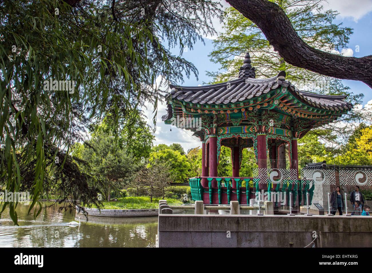 Jardin D Acclimatation Bois De Boulogne Paris 75 France Stock