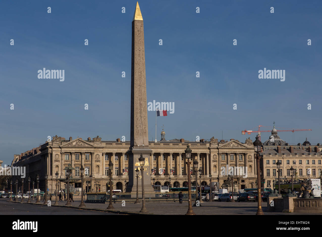 ILLUSTRATION OF THE CITY OF PARIS, ILE-DE-FRANCE, FRANCE - Stock Image