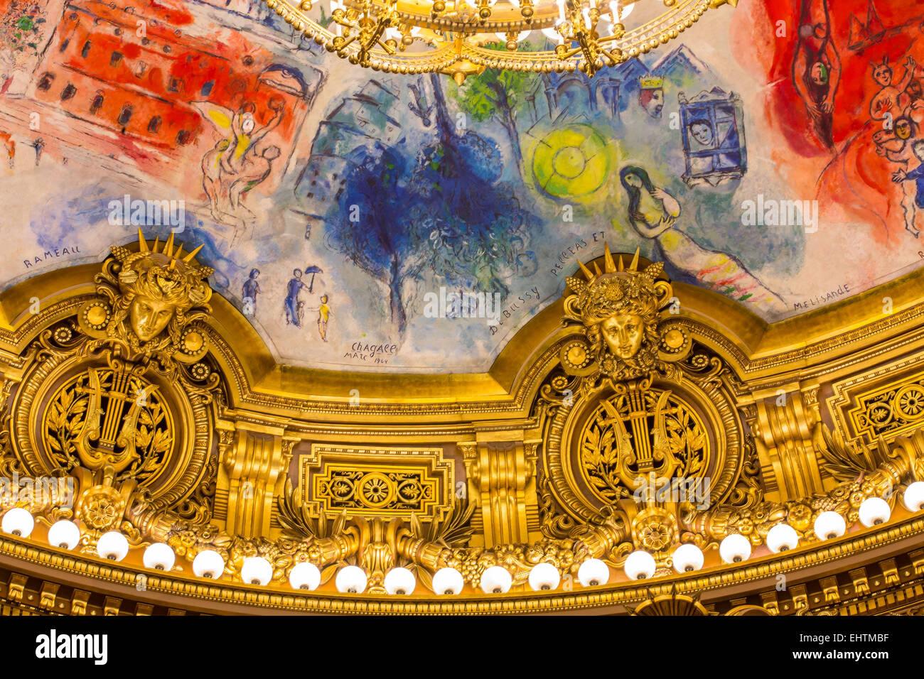 ILLUSTRATION VILLE DE PARIS, ILE-DE-FRANCE, FRANCE - Stock Image