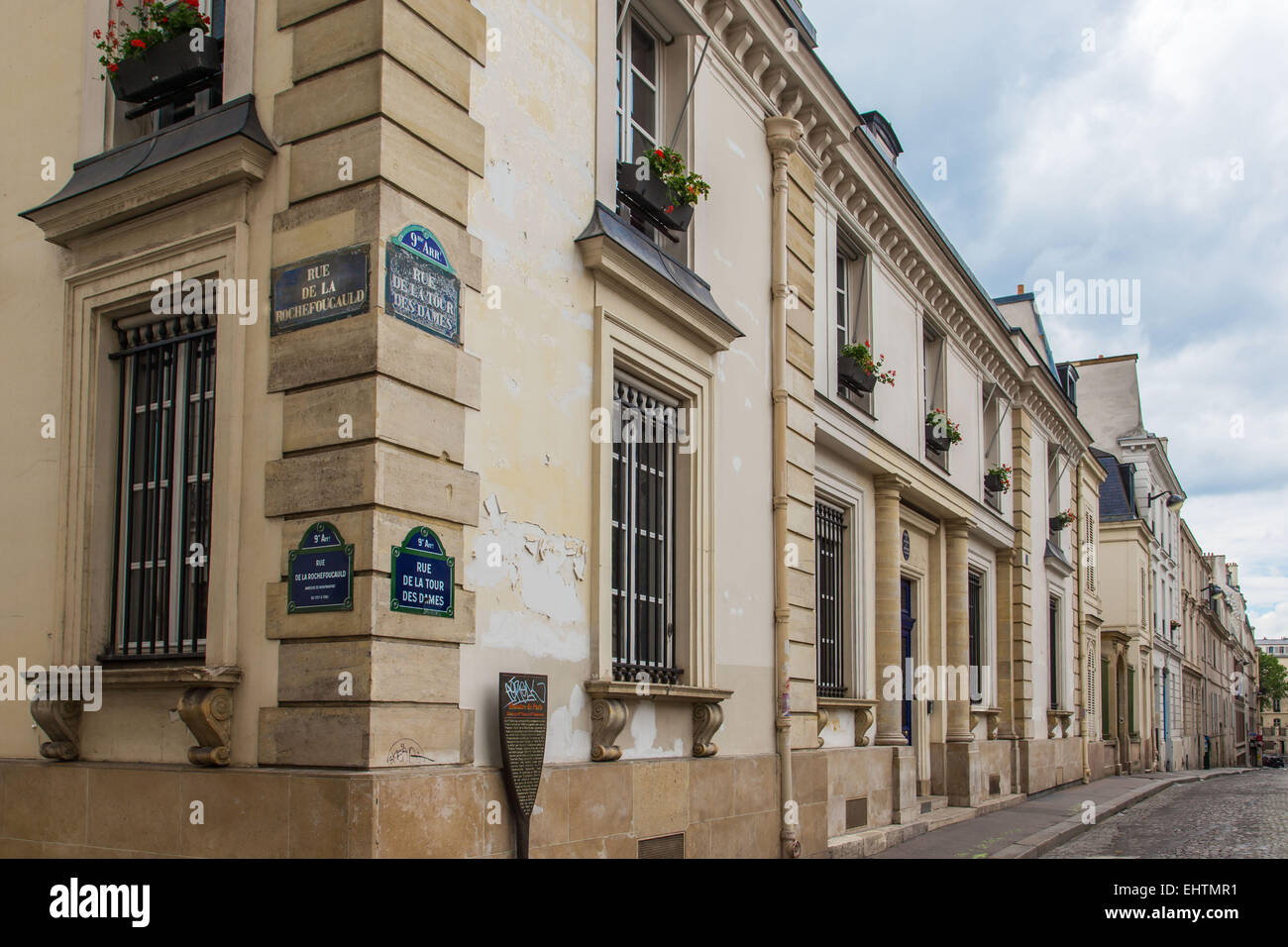 ILLUSTRATION OF THE CITY OF PARIS (75), ILE-DE-FRANCE, FRANCE - Stock Image