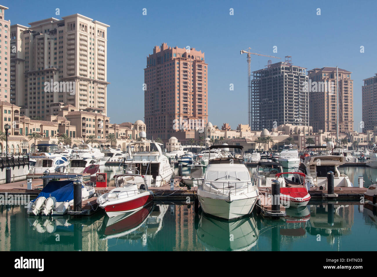 ILLUSTRATION OF QATAR, PERSIAN GULF, MIDDLE EAST - Stock Image