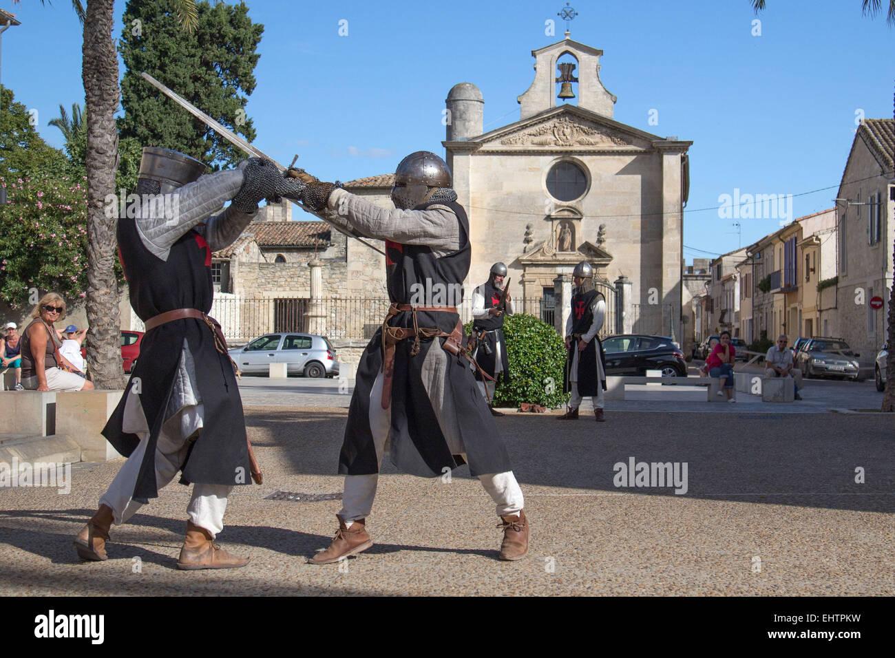 FESTIVAL OF SAINT LOUIS, AIGUES-MORTES, GARD (30), FRANCE - Stock Image