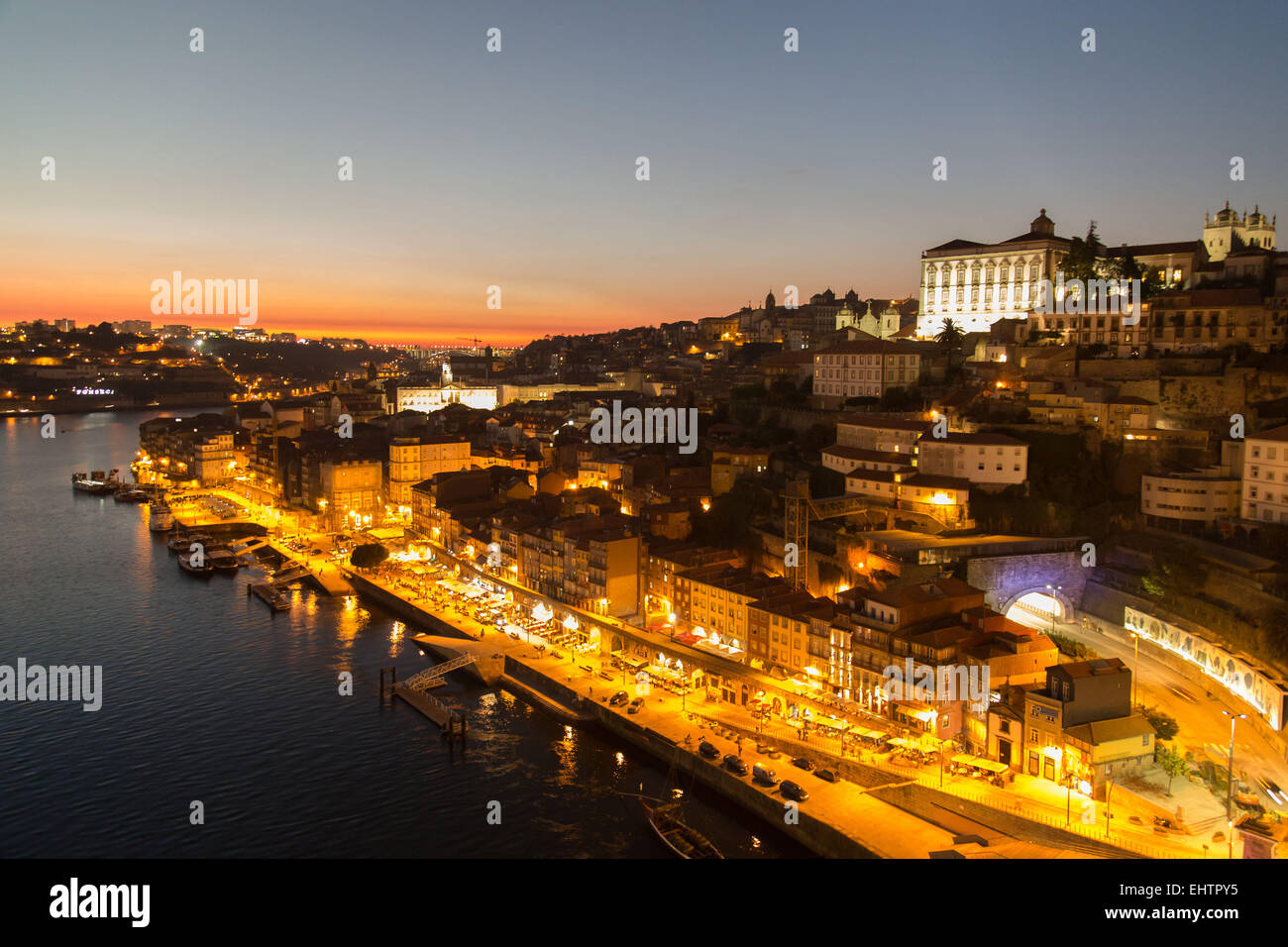 ILLUSTRATION OF OPORTO, PORTUGAL - Stock Image