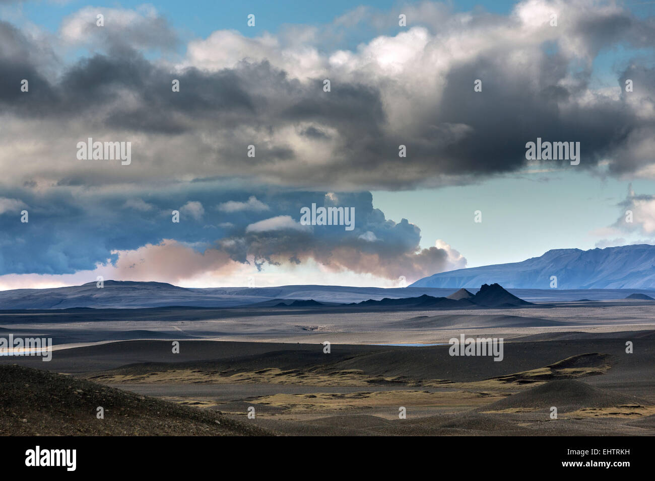 A JOURNEY IN ICELAND, EUROPE - Stock Image