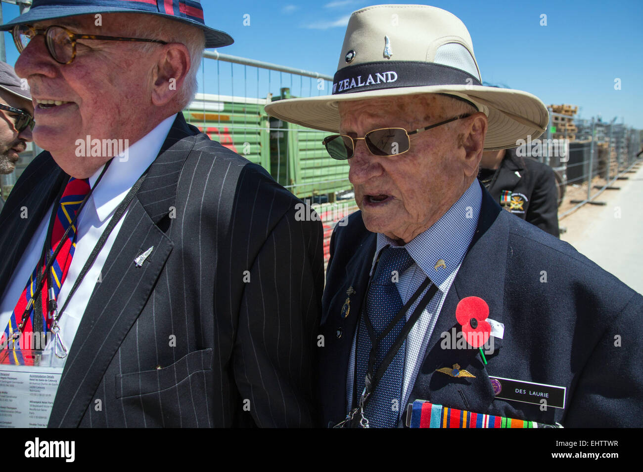 COMMEMORATION OF THE 70TH ANNIVERSARY OF THE NORMANDY LANDINGS, FRANCE - Stock Image